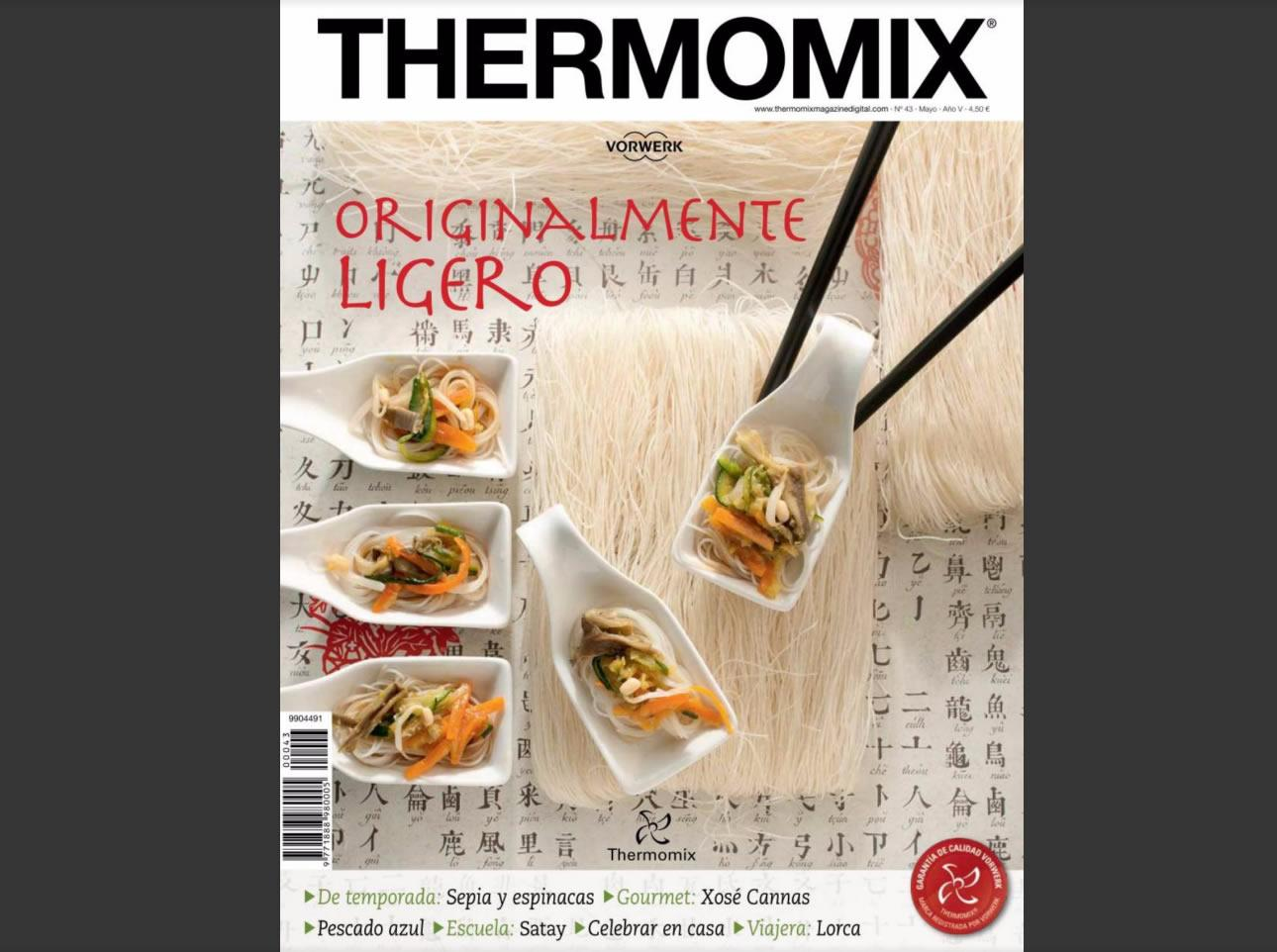 ORIGINALMENTE LIGERO THERMOMIX